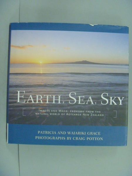 【書寶二手書T7/旅遊_GCS】Earth, Sea, Sky_Grace, Patricia