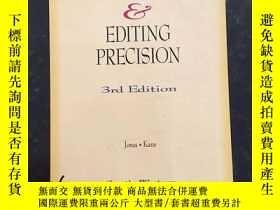 二手書博民逛書店Proofreading罕見& Editing Precisio