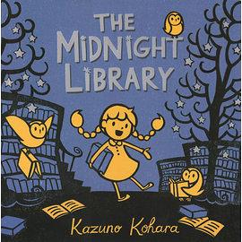 【麥克書店】THE MIDNIGHT LIBRARY /英文繪本 《午夜圖書館》