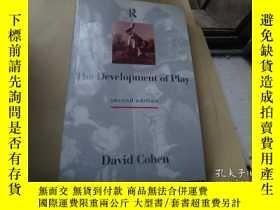 二手書博民逛書店The罕見Development of Play遊戲的發展Y10