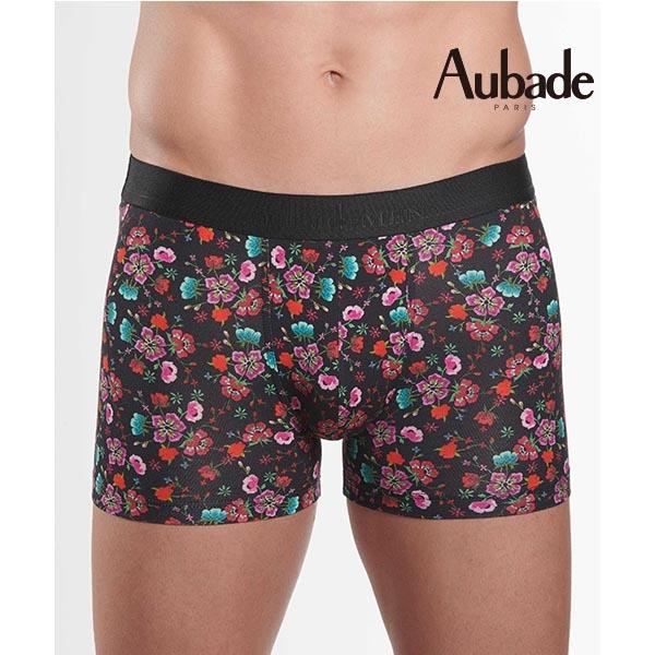 Aubade man-舒棉M-XL平口褲(魅力2件組)