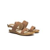 ORWARE-春夏暖心編織帶平底涼鞋651024-06棕