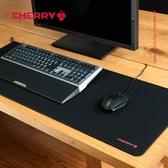 櫻桃競技游戲滑鼠墊超大加厚鎖邊電腦辦公家用桌墊小號大號