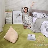 地毯臥室毛絨房間床邊毯加厚家用地墊【少女顏究院】
