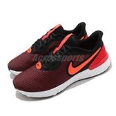 Nike 慢跑鞋 Revolution 5 EXT 黑 紅 男鞋 基本款 運動鞋 【ACS】 CZ8591-002
