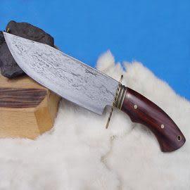 郭常喜與興達刀具--郭常喜限量手工刀品-大獵刀(A0015)