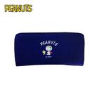 【日本正版】史努比 帆布 長夾 皮夾 錢包 Snoopy PEANUTS - 265499
