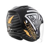 【好市吉居家生活】Lubro Helmet 荷魯斯之眼 3/4安全帽 賽車帽 (預購商品約1月中到貨)