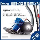 Dyson Ball fluffy 雙層氣旋圓筒吸塵器 CY24 寶石藍 吸塵器 全新無使用 商品以註冊 公司貨 可傑