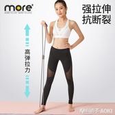 8字拉力器背部訓練器橡筋彈力繩家用肩頸拉伸帶健身器材鍛練手臂ATF 青木鋪子