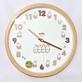 Miffy 米菲兔 時鐘 掛鐘 靜音 連續秒針 日本正版商品