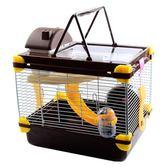 倉鼠籠子超大別墅小倉鼠的雙層小城堡金絲熊相親籠窩買送用品套餐 HM