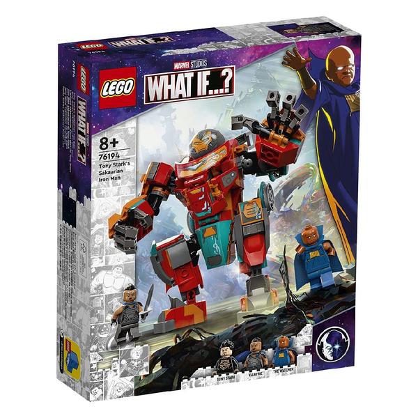 LEGO 樂高 Marvel - 東尼史塔克的薩卡人鋼鐵人裝甲Tony Stark s Sakaarian Iron Man 76194