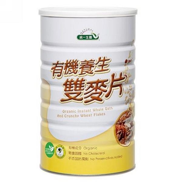 統一生機~有機養生雙麥片800公克/罐~即日起特惠至6月29日數量有限售完為止