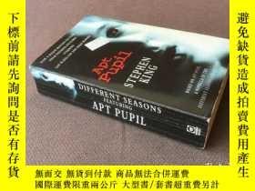 二手書博民逛書店Apt罕見Pupil (英語)Y278316 Stephen King   斯蒂芬·金