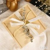 歐式結婚伴手禮盒木質個性ins風伴娘回禮盒創意糖果包裝盒 FF3651【美好時光】
