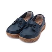 BABYLON 牛皮厚底帆船鞋 藍 女鞋