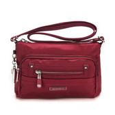 《高仕皮包》【免運費】BESIDE-U 都會簡約方形肩包.紅湖色 BNUL24S16289B