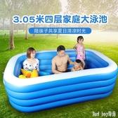 兒童充氣游泳池加厚家用嬰兒寶寶超大海洋球池小孩大號家庭戲水池 QQ28476『bad boy』