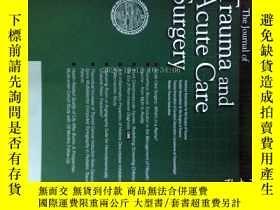 二手書博民逛書店The罕見Journal of Trauma and Acute Care Surgery 02 2012 創傷與