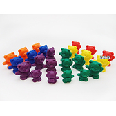 《 USL遊思樂教具 》書包熊 ( 96 PCS ) / JOYBUS玩具百貨