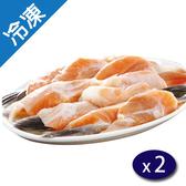 爭鮮挪威鮭魚邊鰭500G/包X2【愛買冷凍】