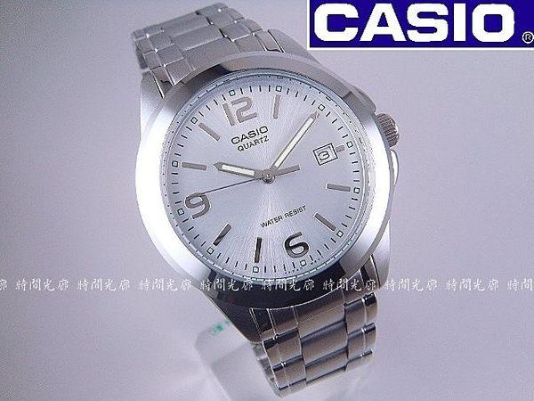 【時間光廊】CASIO 卡西歐 經典指針錶 (銀白) 學生/送禮/聖誕節/情人節 全新原廠公司貨 MTP-1215A-7ADF