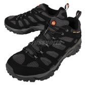 Merrell 戶外鞋 Moab Gore-Tex 防水 透氣 越野 健走 黑 灰 男鞋【PUMP306】 ML15151