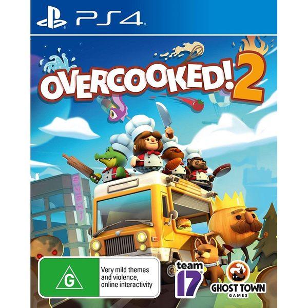 PS4 煮過頭2 二代 繁體中文英文亞版 煮過頭 Switch Overcooked 2