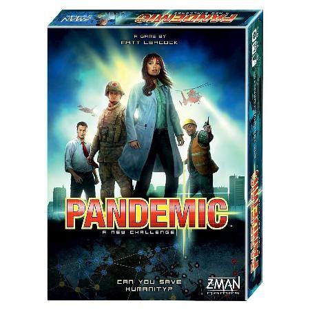 【GoKids】瘟疫危機 桌上遊戲 (中文版 ) Pandemic