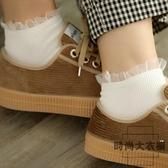 蕾絲襪子女網紗金絲短筒韓國仙女日系花邊棉襪
