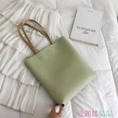 托特包波卓爾女包高級感洋氣大容量簡約韓版潮側背包手提托特包 愛麗絲