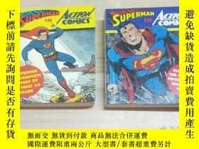 二手書博民逛書店英文原版漫漫畫罕見SUPERMAN IN ACTION COMI