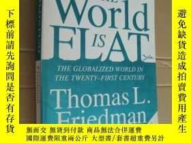 二手書博民逛書店The罕見World is Flat(英文原版 大32開 )Y8