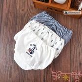 【三件裝】日系兒童內褲三角褲純棉網眼女童薄款內褲【聚可愛】