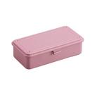 [TOYO] 方型工具盒 粉紅 (T-190P)