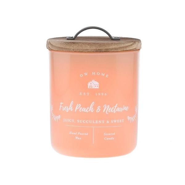 DW HOME 油桃香 8.5oz Fresh Peach & Nectarine 香氛蠟燭 FARMHOUSE 系列