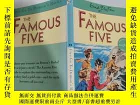 "二手書博民逛書店the罕見famous five five go to demon s rocks 著名的""五五""去魔鬼的巖石.."