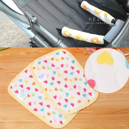 嬰兒衛生吸吮巾推車安全帶護肩護腿帶 單件入 20x13cm 口水巾 護肩帶 護腿帶 安全帶保護套