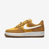 Nike Wmns Air Force 1 07 SE [DA8302-700] 女 休閒鞋 經典 麂皮 AF1 金 黃