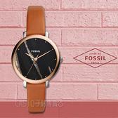 FOSSIL手錶專賣店 ES4378 大理石紋指針女錶 皮革錶帶 黑色大理石紋 防水 全新品 保固
