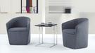 【南洋風傢俱】房間椅洽談椅系列-米奇黑玻小茶几休閒桌椅組 CX691-9 CX606-4