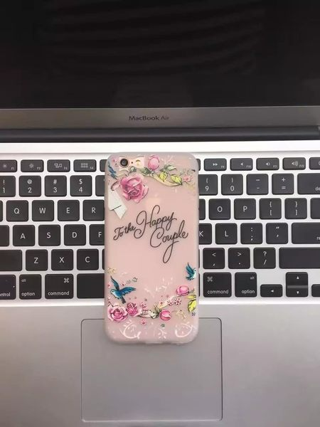 【SZ13】iphone 6 plus手機殼 唯美碎花磨砂軟殼 iphone 6s 手機殼