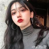 耳環夸張歐美風網紅耳環2021年新款潮韓國氣質耳圈高級感2021耳飾女 雲朵走走