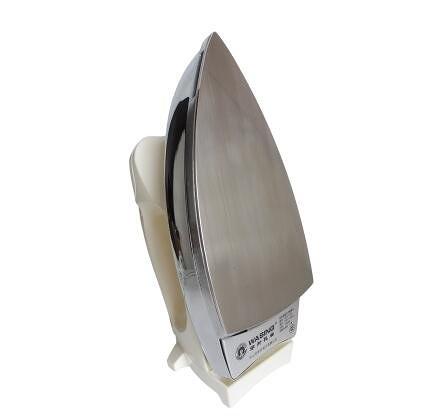 【重型不銹鋼底板-電壓220V】老式電熨斗 調溫家用工業幹燙無蒸汽1000W