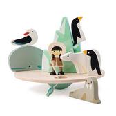 【美國Tender Leaf Toys】極地動物平衡組(手眼協調學習教具)