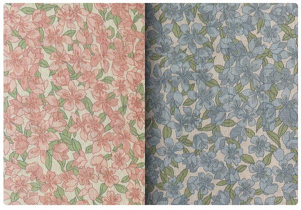 百分百純棉二重紗花系列 印花布 窄幅110CM 韓國進口質感優 2色 單價 口罩