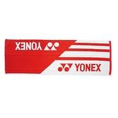 Yonex Towel [AC10019TR496] 毛巾 運動 羽球 吸汗 舒適 柔軟 33x100cm 紅白