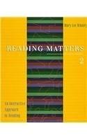二手書博民逛書店 《Reading Matters 2: An Interactive Approach to Reading》 R2Y ISBN:0395904277│Wholey