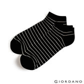 【GIORDANO】中性款多色舒適彈力短襪 (2雙入)-21 黑色